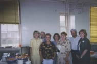 (back row) Raymond Dowdle, Rachael Dowdle <BR>(front row) Carol Hill, Carol Long,Carol Edgison,<BR> Rodney Ellis and Sandy Hill
