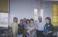 Carol Hill, Carol Long, Raymond Dowdle, Rachael Dowdle, Carol Edgison, Rodney Ellis and Sandy Hill
